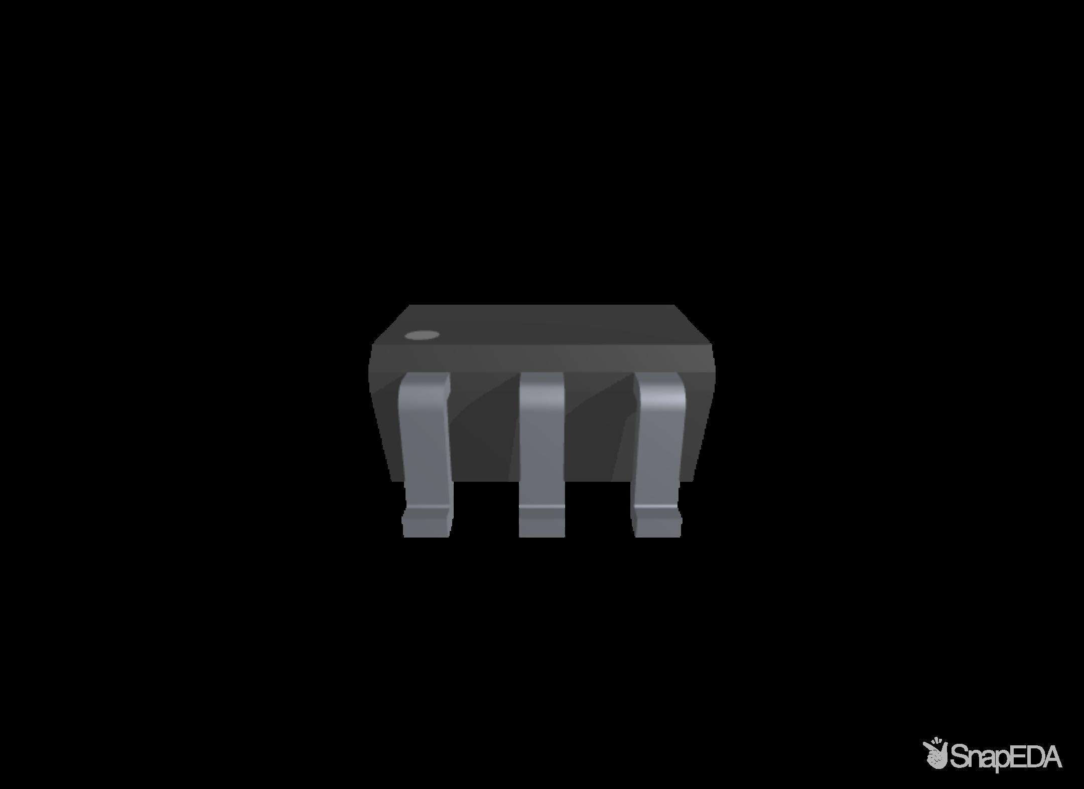 MCP6401T-E/OT 3D Model