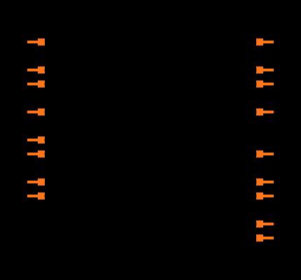 MCP73871T-2CCI/ML Symbol
