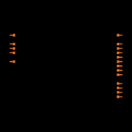 PIC16C54C-40/SO Symbol