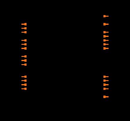 PIC16C66-04I/SP Symbol