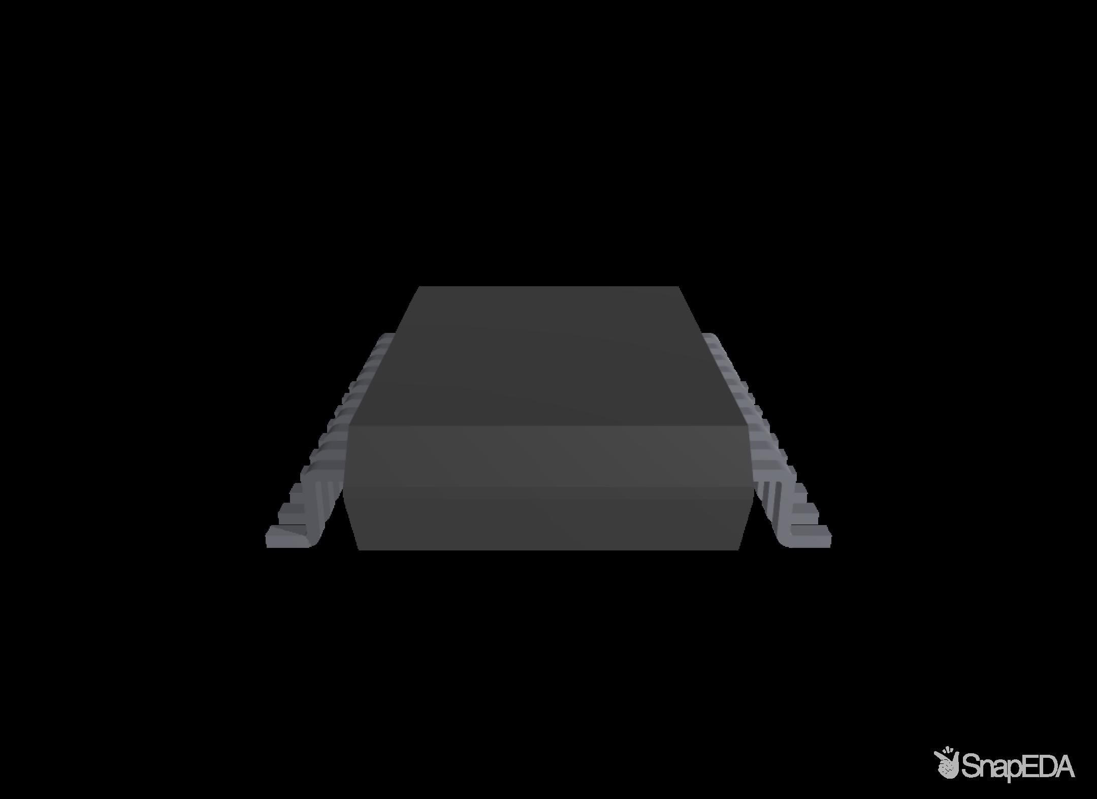 PIC16F819-I/SSTSL 3D Model