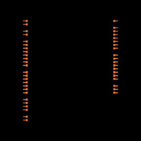 PIC16F877-10E/L Symbol
