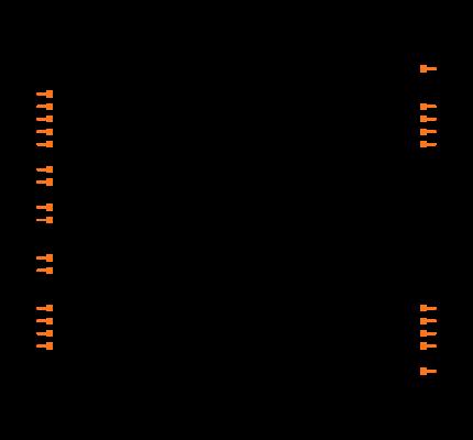 PIC18F2321-I/SP Symbol
