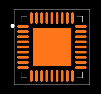 USB2514BI-AEZG Footprint