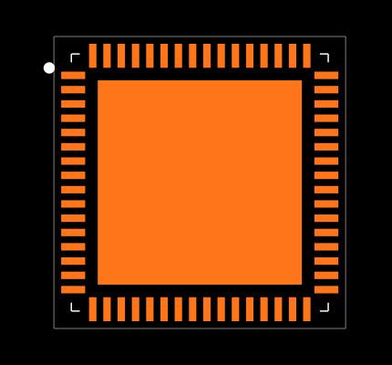 ZL38040LDG1 Footprint