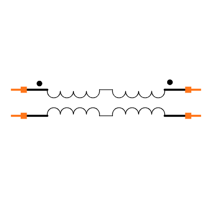 TCM1-63AX+ Symbol