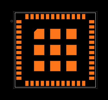 CMWX1ZZABZ-078 Footprint