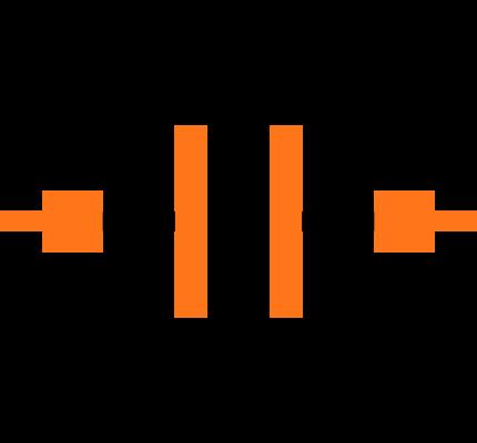 GCM1555C1H101FA16D Symbol