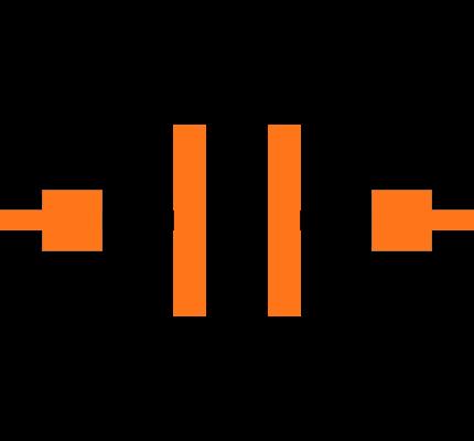 GCM1555C1H1R0BA16D Symbol