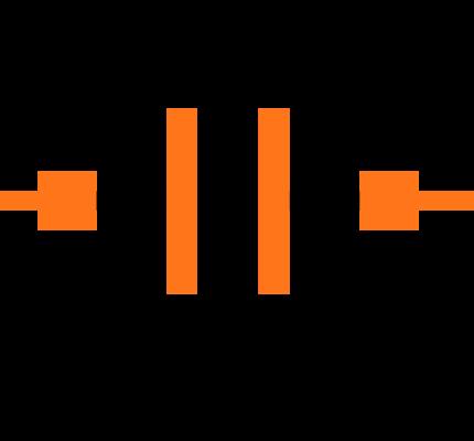 GRM033C71C104ME14D Symbol
