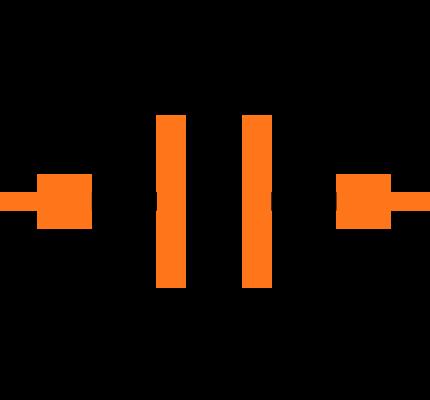 GRM1555C1H2R7CA01D Symbol