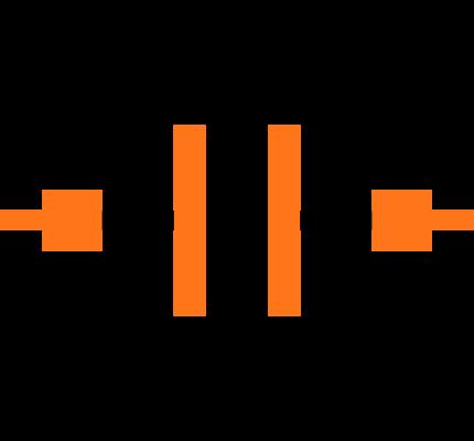 GRM155C81A225KE44J Symbol