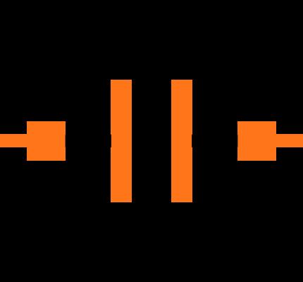 GRM155C81C225ME15D Symbol