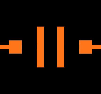 GRM1885C1H2R7CA01D Symbol