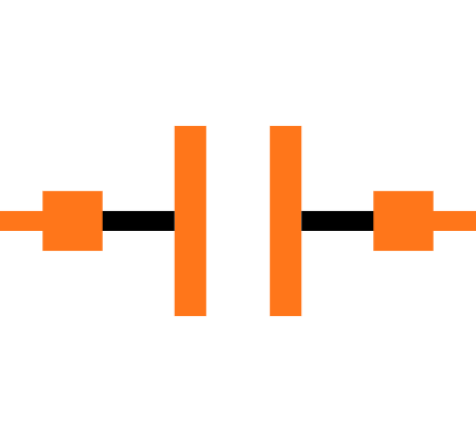 GRM033C81E104ME14D Symbol