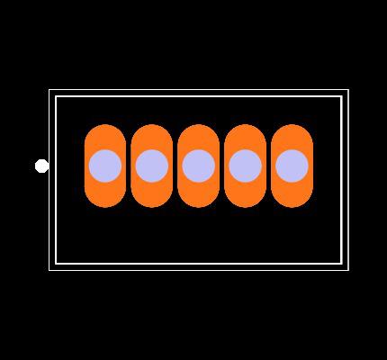 OKR-T/1.5-W12-C Footprint