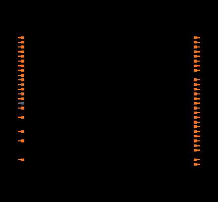 LPC11U37FBD48 Symbol