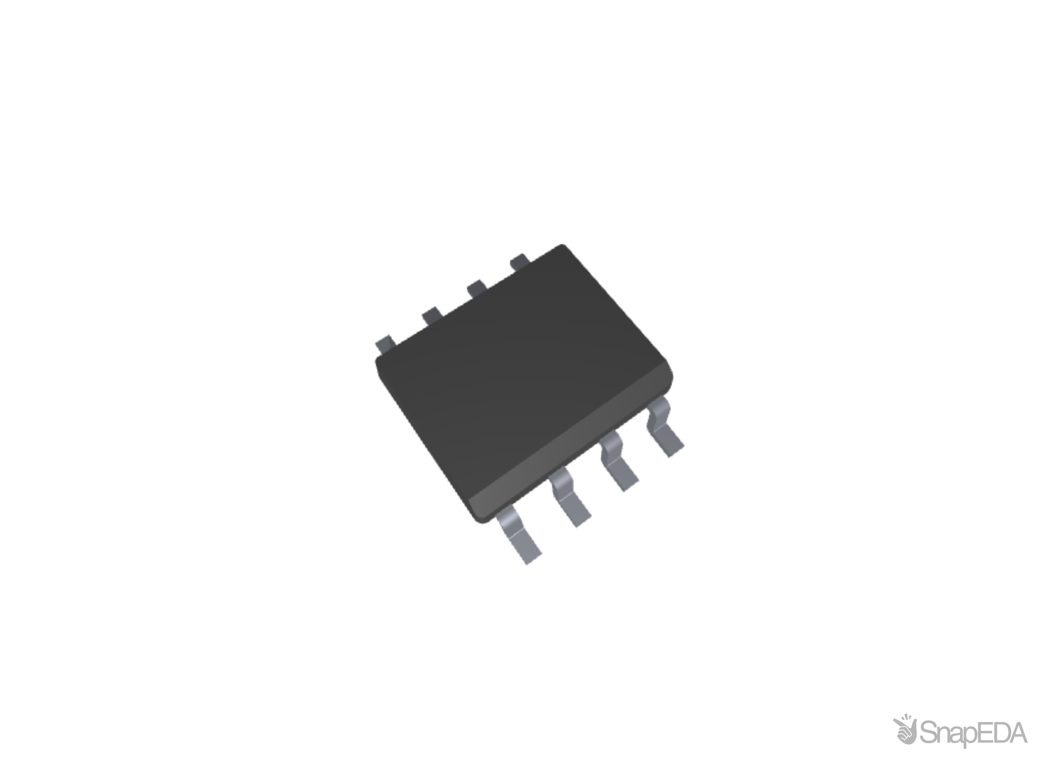 PCF8583T SMD 3D Model