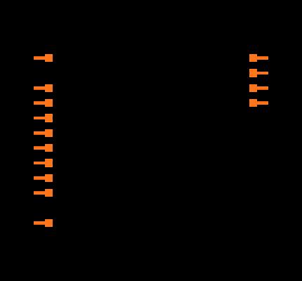 HEF4093BTD-T Symbol