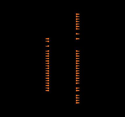 NRF51822-QFAA-T Symbol