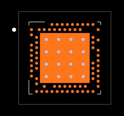 NRF52840-QIAA-R Footprint
