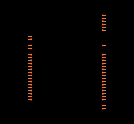 NRF52832-QFAB-R Symbol