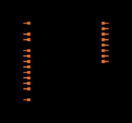 74VHC541MTCX Symbol