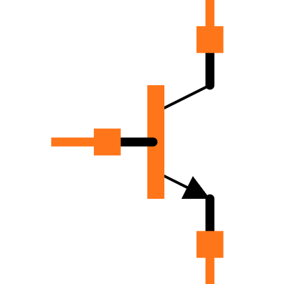 BC547A Symbol