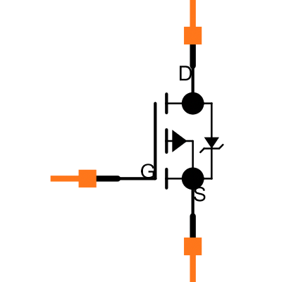 BSS84 Symbol