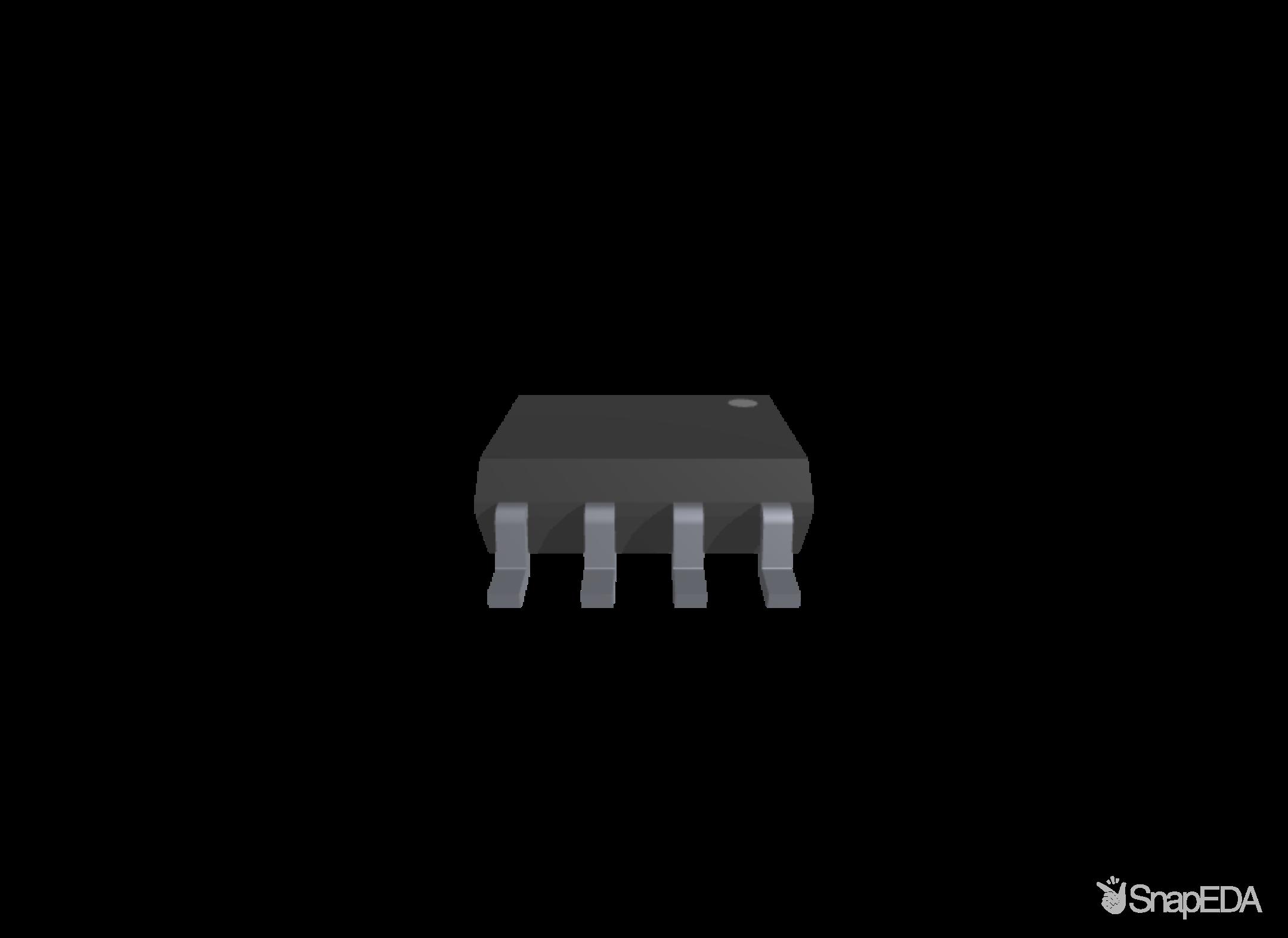 CAT24C256WI-GT3 3D Model