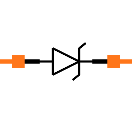 ESD9X5.0ST5G Symbol