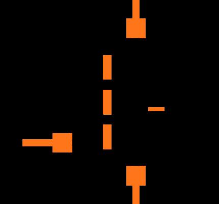 FDN338P Symbol