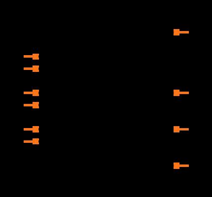 FSUSB42MUX Symbol