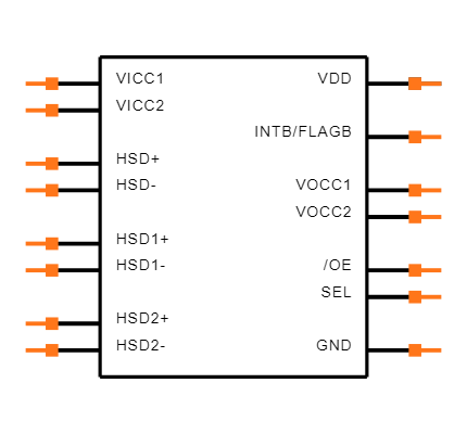FUSB252UMX Symbol