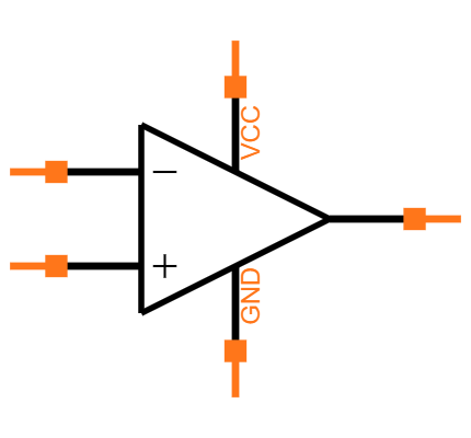 LM358AN Symbol
