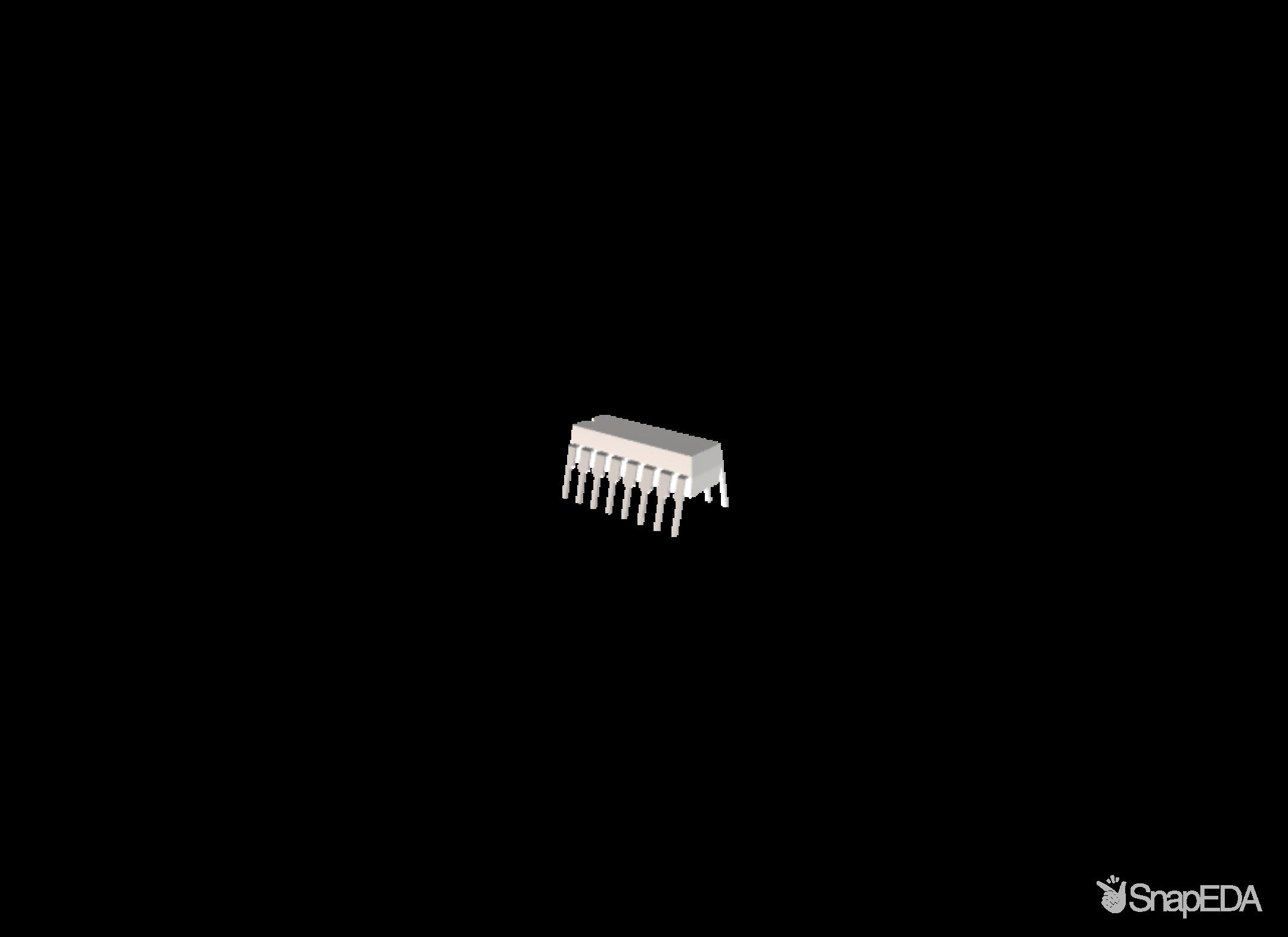 MC14518BCP 3D Model