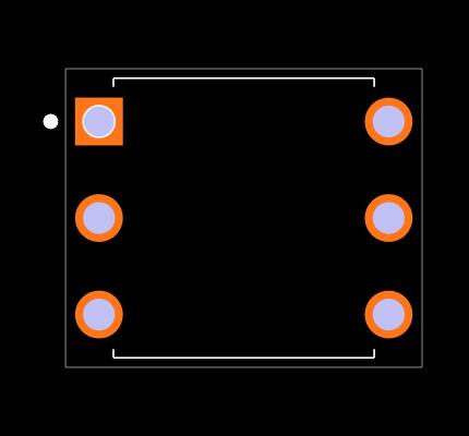 MOC3023 Footprint