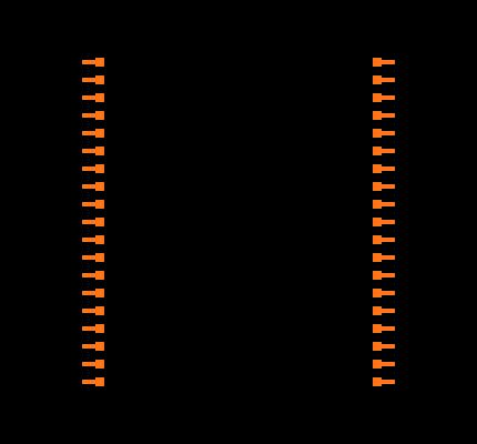 ESP32-DEVKITC footprint & symbol by Olimex LTD | SnapEDA