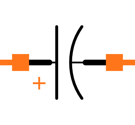 EEE1VA470AP Symbol