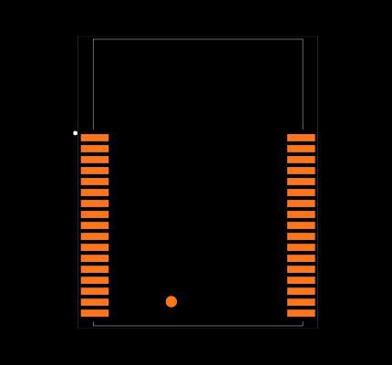 DWM1001C Footprint