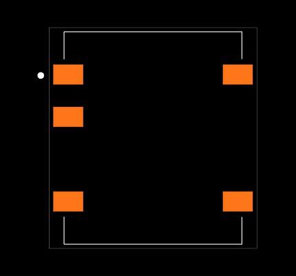 R1S-0505/H Footprint