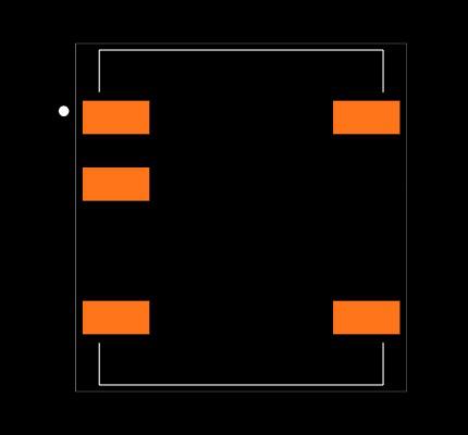 R1SX-3.33.3-R Footprint