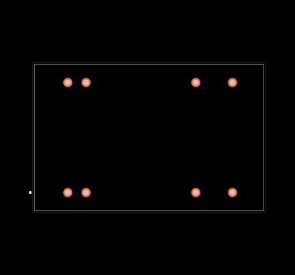 REC5A-2405SW/H2 Footprint
