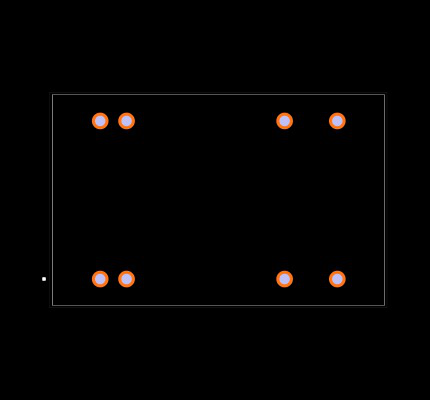 REC7.5-2415DRW/H2/A/M Footprint