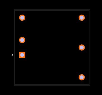 REC8E-1215D/CTRL/X1 Footprint