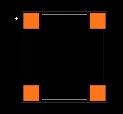 ROF-78E5.0-0.5SMD-R Footprint