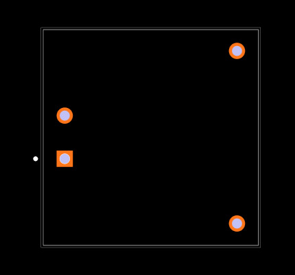 RP15-2412SAW Footprint
