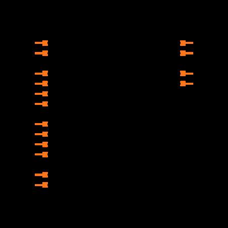HIN232ECBNZ Symbol
