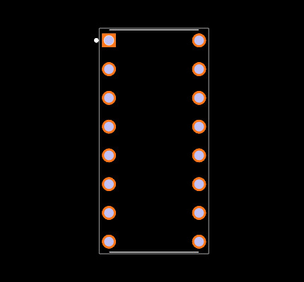 DS18030-050 Footprint