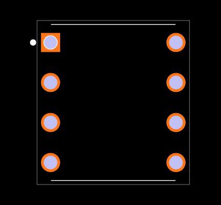 DS1804-100 Footprint